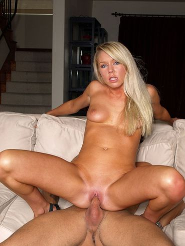 Juicy Blonde Brynn Tyler Gets Her Face Pounded Before A Hardcore Ride On Her Lover's Willie.