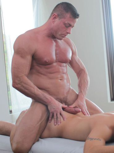Luke hass makes twink drop his load