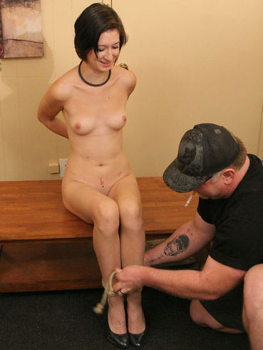 slavegirl Nude skinny