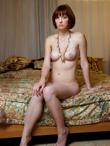 haired Naked redhead short