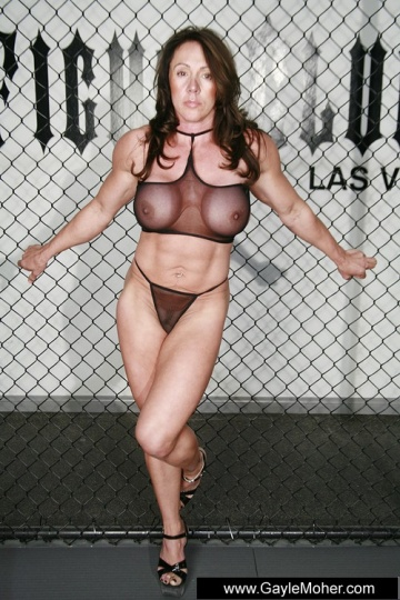 Superstar Gayle Moher Nude Gif