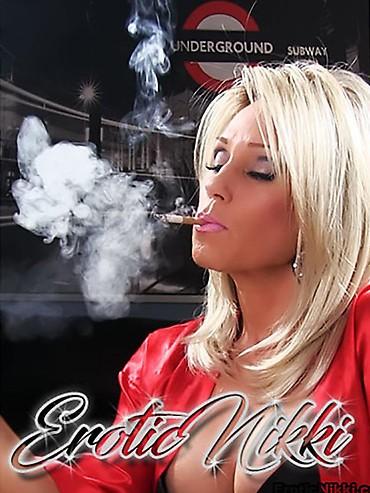 Ebony Smoking Weed Masturbate