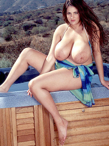 Charming eden mor with an incredibly huge natural boobs 10