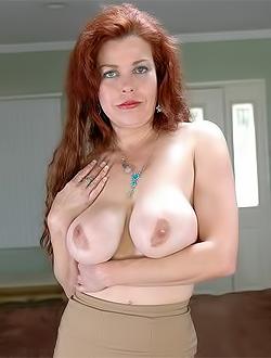 Redhead milf wife
