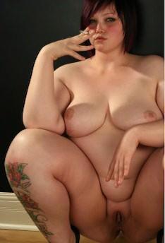 Fat bbw fingern